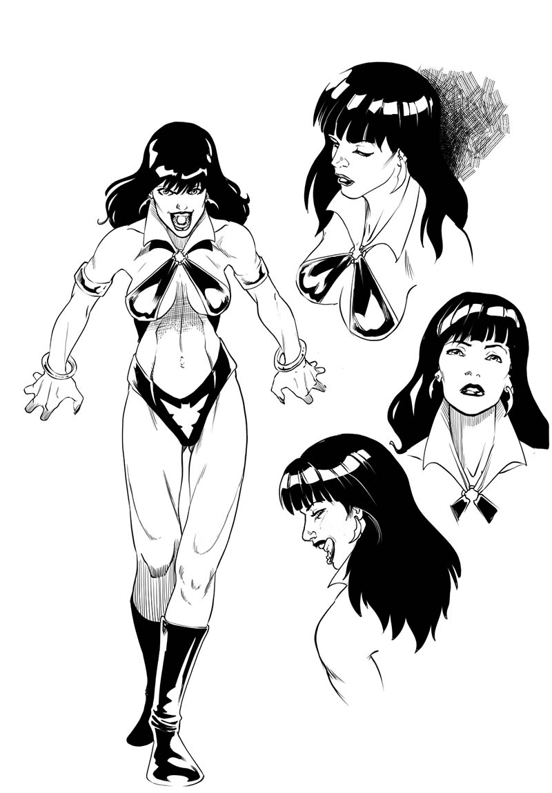 Vampirella vs Aliens
