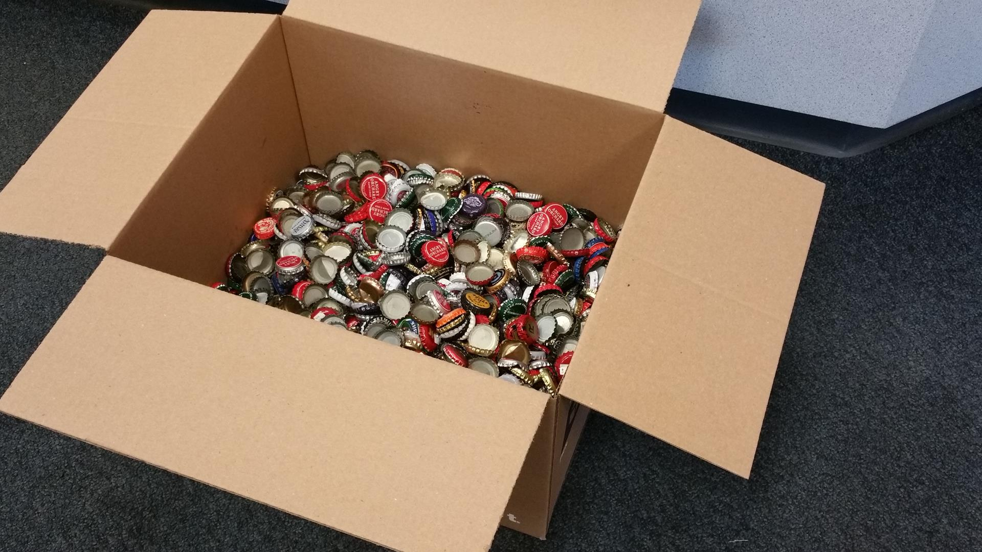 Bethesda bottle caps