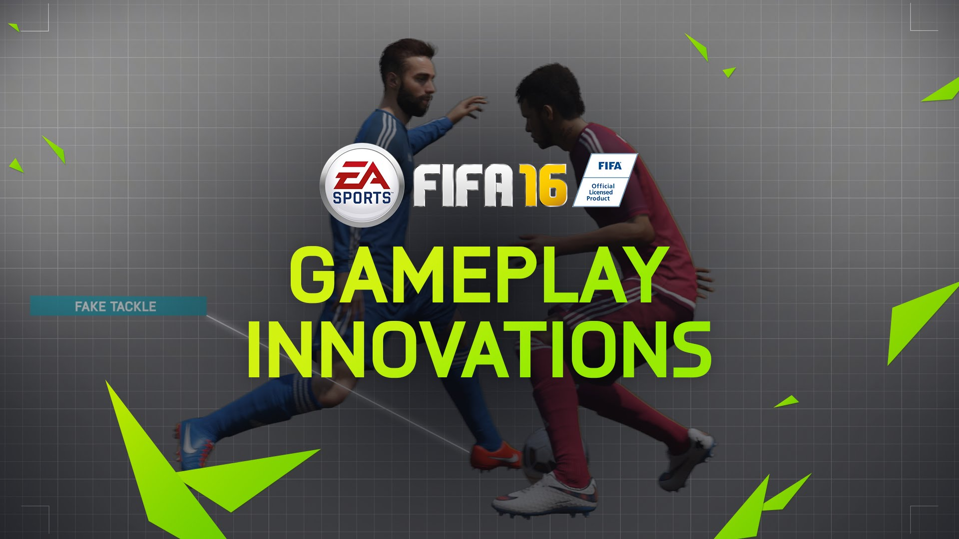 FIFA 16 Gameplay Innovations