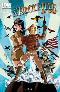 Rocketeer The Rocketeer At War-IDW Publishing