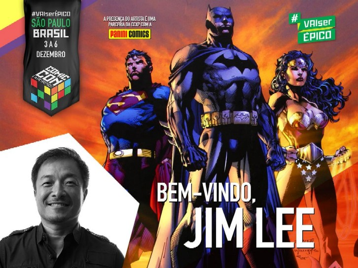 Jim Lee-Comic Con Experience 2015