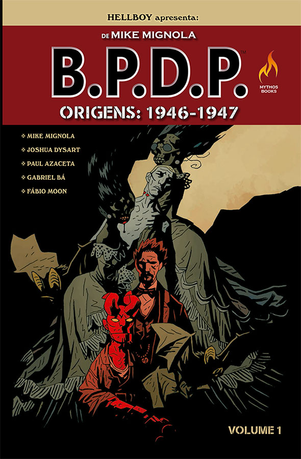 Mythos-Hellboy-encadernado do B.P.D.P.