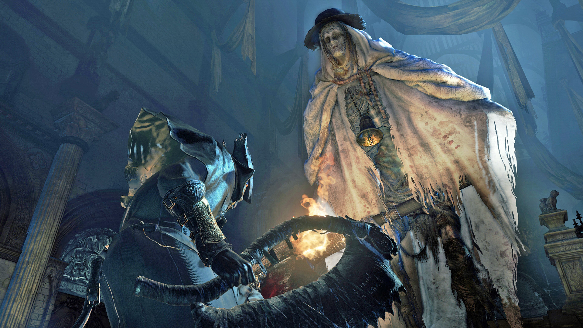 Sony afirma que 2015 teve titulos fracos-Bloodborne