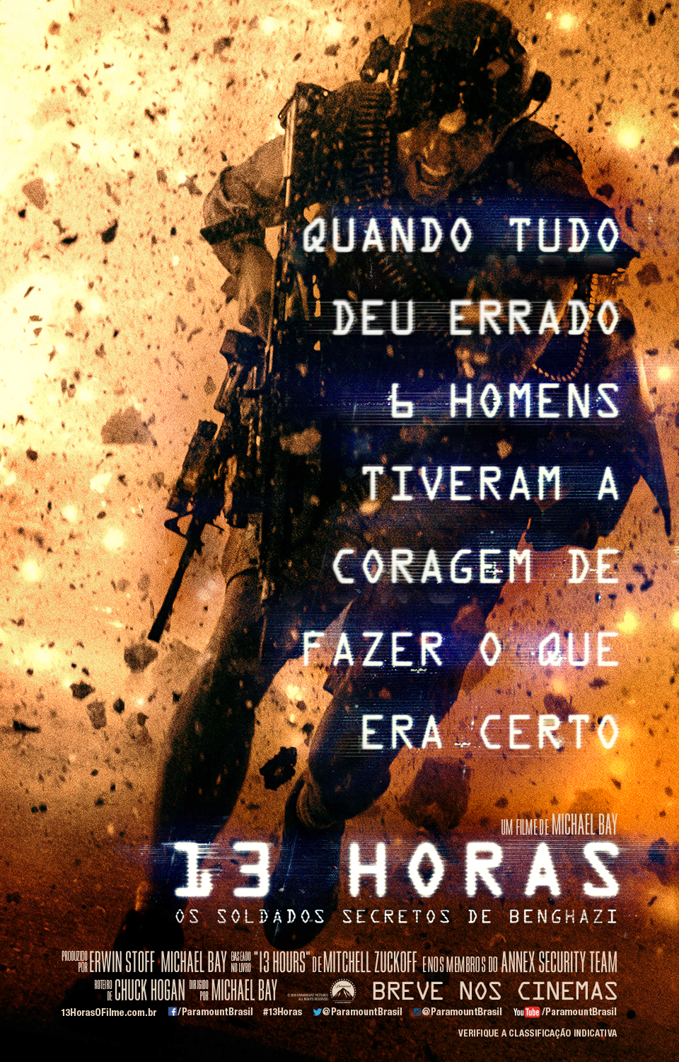 13 HOURS - THE SECRET SOLDIERS OF BENGHAZI-Nacional
