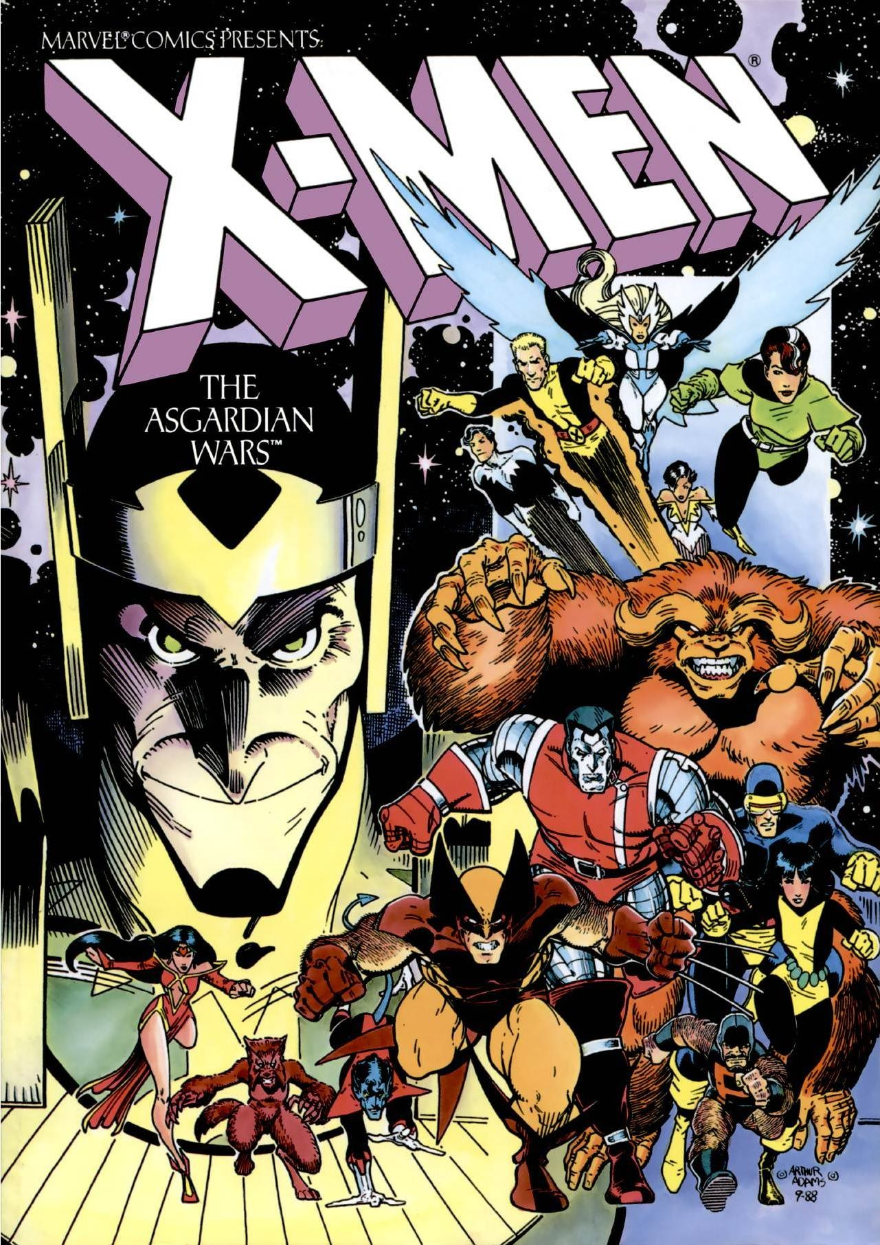 Capa de X-Men The Asgardian Wars,