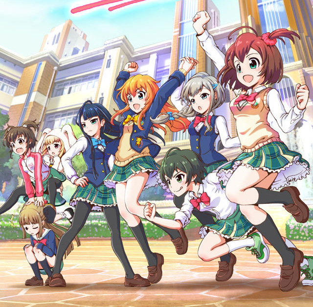 Battle Girl High School vai ter anime