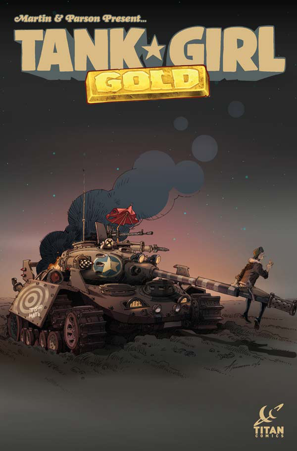 Titan Comics-Tank Girl – Gold -3