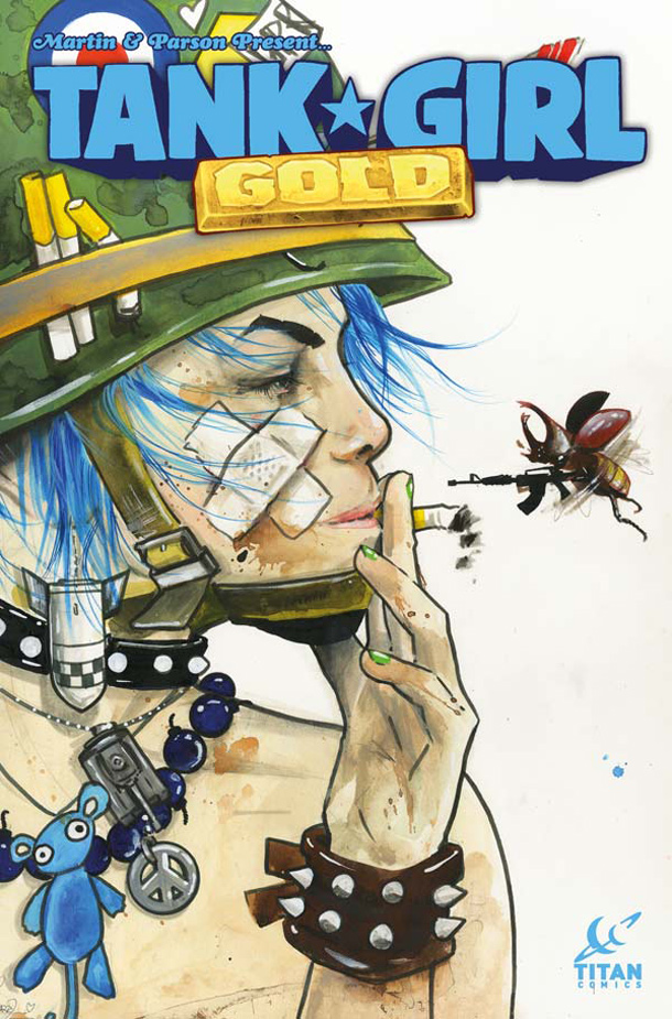 Titan Comics-Tank Girl – Gold -4
