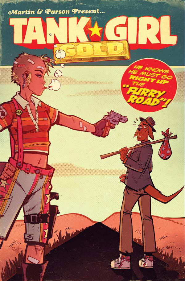 Titan Comics-Tank Girl – Gold -6